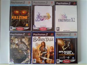 PS2 Games: Action And Combat R60 each.