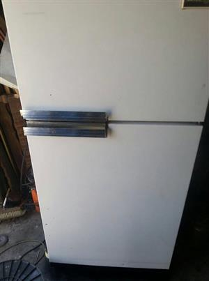 Old fridge and freezer