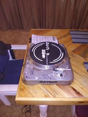 DJ Tech turntable for sale