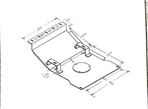 Prado Series 95 Bash Plate / Engine Protector