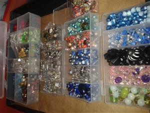 Lots of beads and accessories