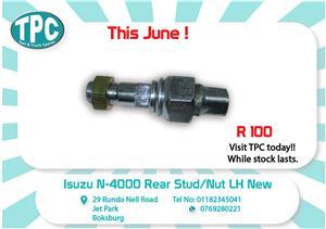 Isuzu N-4000 Rear Stud/Nut LH New for Sale at TPC
