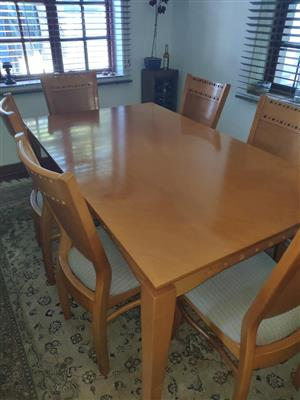 Dining Room Suite - Six Chair plus Table