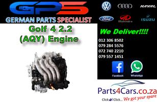VW Golf 4 2.0 (AQY) Engine for Sale
