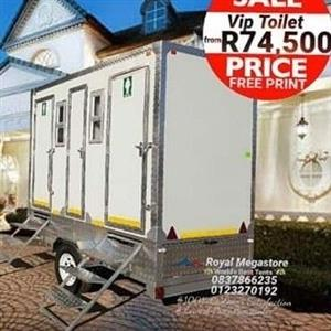 January Special offers on Vip Toilets Mobile Kitchen Freezer and Chiller and Tents