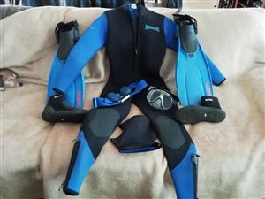 Ladies Scuba gear