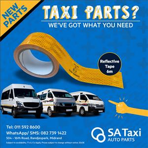 Reflective Tape - SA Taxi Auto Parts quality spares