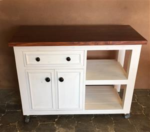 Butchers Block Chunky Cottage series 1200 mobile - Two toned
