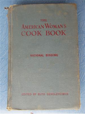 THE AMERICAN WOMAN'S COOK BOOK (National Binding) by Ruth Berolzheimer- by Ruth Berolzheimer - 1948