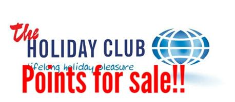 Holiday Club - Points for sale