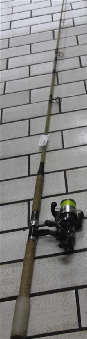 S034303E Fishing rod with reel #Rosettenvillepawnshop