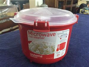 Sistema Microwave Rice Cooker/Steamer - 2.6 Litre capacity