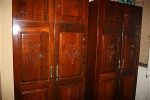 Imbuia 3 pcs Bedroom Suite