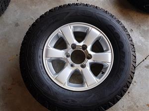 Isuzu 16 Inch Rims and Tyres