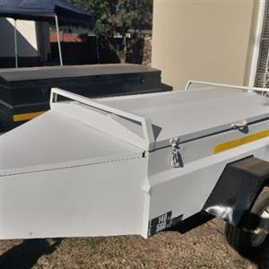 5 foot trailer with nose cone