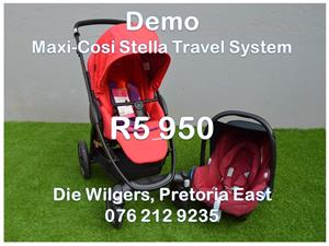 Demo Maxi-Cosi Stella Travel System