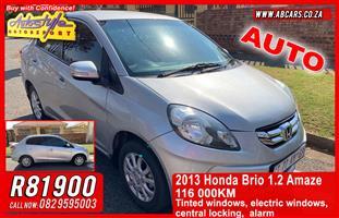 2013 Honda Brio Amaze sedan 1.2 Comfort auto