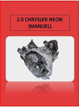 2.0 CHRYSLER NEON MANUAL GEARBOX (FOR SALE)