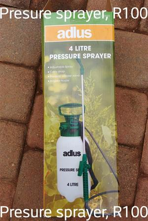 Adlus 4 litre pressure sprayer