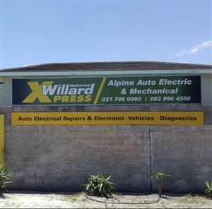 Alpine auto electric and mechanical