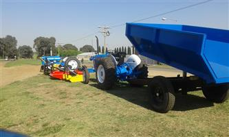 Tip trailers from 3 ton and up