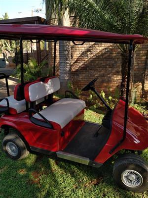 48 Volt Tele-Sun 4 Seater Golf Cart