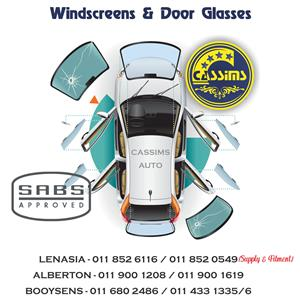 Windscreens & Door Glasses