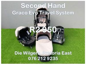 Second Hand Graco Evo Travel System