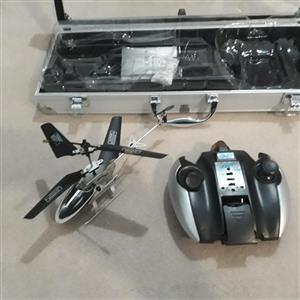 Remote control Gyro alloy helicopter. Brand new.  Never been used.
