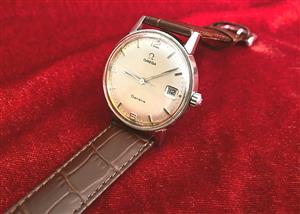 Omega Geneve Men's Vintage Watch, Cal.613, Manual Winding, Quickset Date