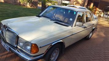 1983 Mercedes Benz 230E