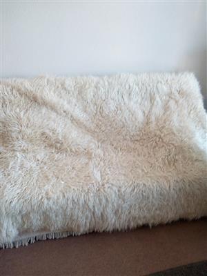 Flokati rugs x3