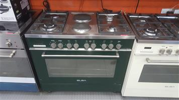 Elba demo Electric and Gas stove