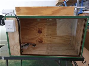 custom built enclosure