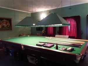Full-Size Championship Snooker Table