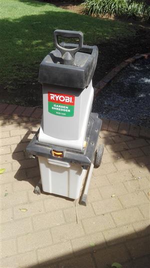 Ryobi garden shredder