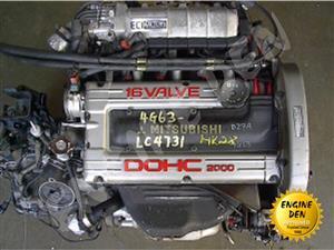 MITSUBISHI/HYUNDAI 2L 16V4G63/93 USED ENGINE