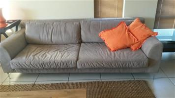 Coricraft couches, carpet and table