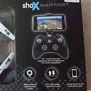 Shox Raptor drone with camera