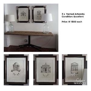 decorative artwork framed