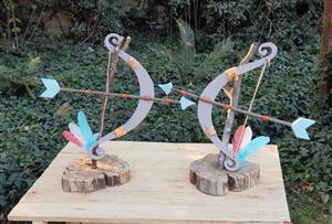 Bow & Arrow Centerpiece for hire - Wild one - Kids Parties - Alberton