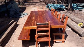 Dinning table for inside or outside