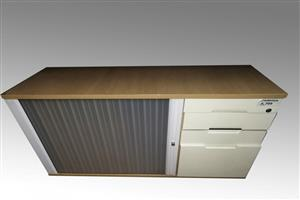 Credenza with Drawers & Slide