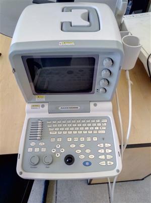 Fairly Used KX2000G Ultrasound machine To Rent