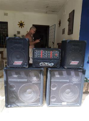 Music system for sale