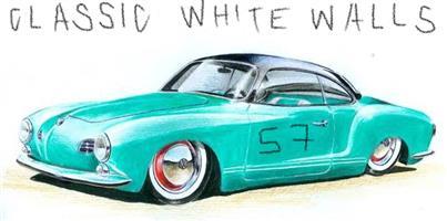 White Walls / Trim Rings / Hubcaps