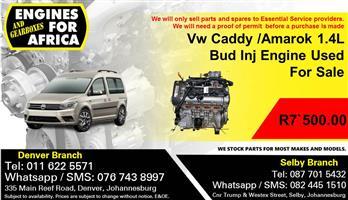 Vw Caddy /Amarok 1.4L Bud Inj Engine Used For Sale.