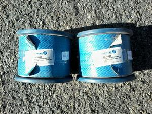 Electric fencing braided wire 5 ks x 2