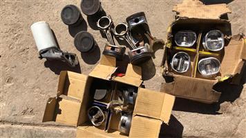 Ford Bantam / Boet Fiesta Rocam Pistons, Conrods & Oil Filter For Sale