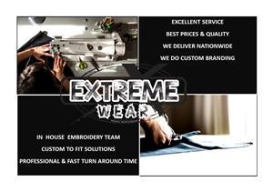Bulk Team Wear and Sports Wear Supplier at Extreme Wear - Triathlons/ Marathons/ School Sportswear/ Team Building Events
